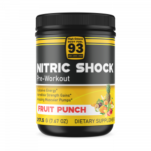 Fruit Punch Nitric Shock Preworkout 605