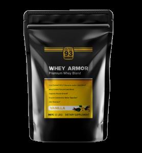 Vanilla Whey Armor Front 608